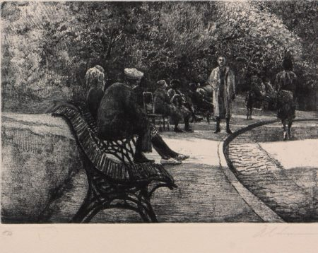 Chaumont Park Bench by Harold Altman